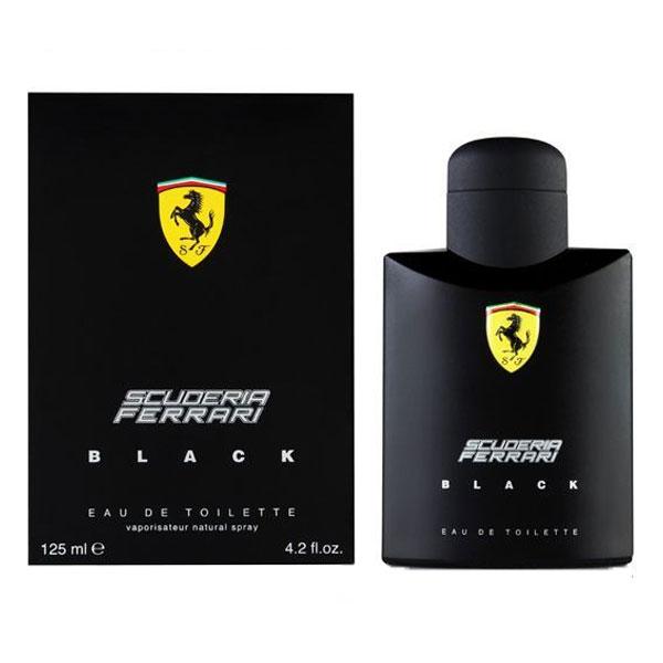 Ferrari Scuderia Black EDT For Men (125ml)