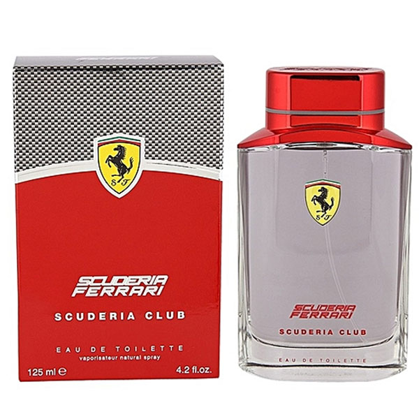 Ferrari Scuderia Club EDT For Men (125ml)