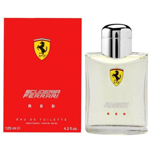 Ferrari Scuderia Red EDT For Men (125ml)