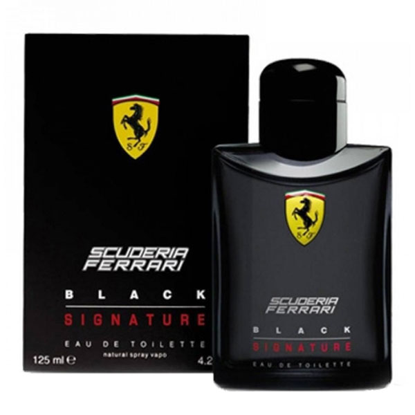 Ferrari Scuderia Black Signature EDT For Men (125ml)