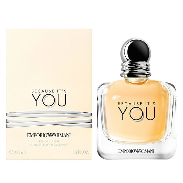 Emporio Armani Because Its You EDP For Women (100ml)