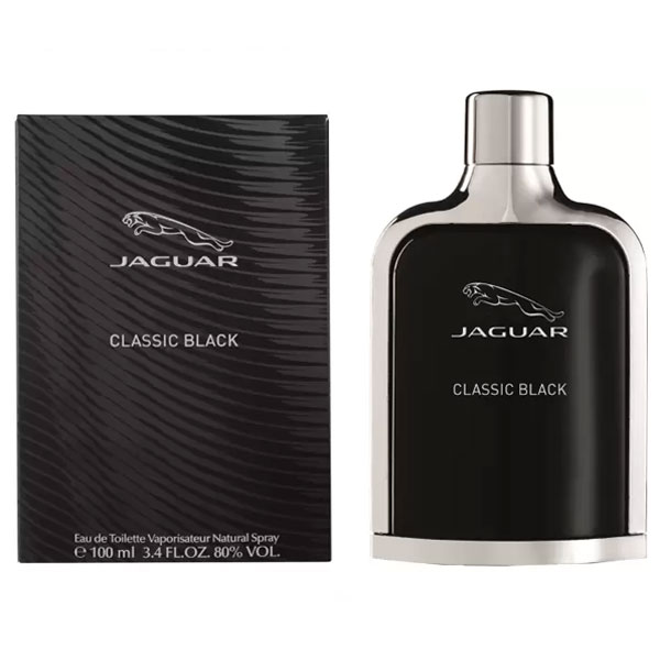 Jaguar Classic Black EDT for Men (100ml)