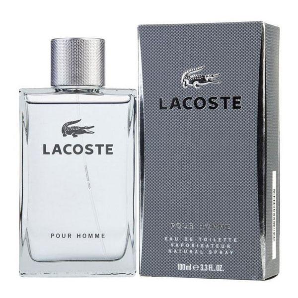 Lacoste Pour Homme Grey EDT for Men (100ml)