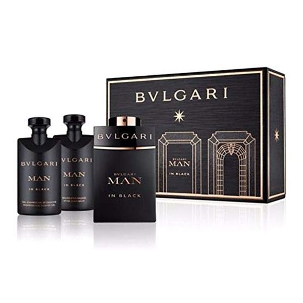 Blvgari Man In Black 3 Pcs Gift Set