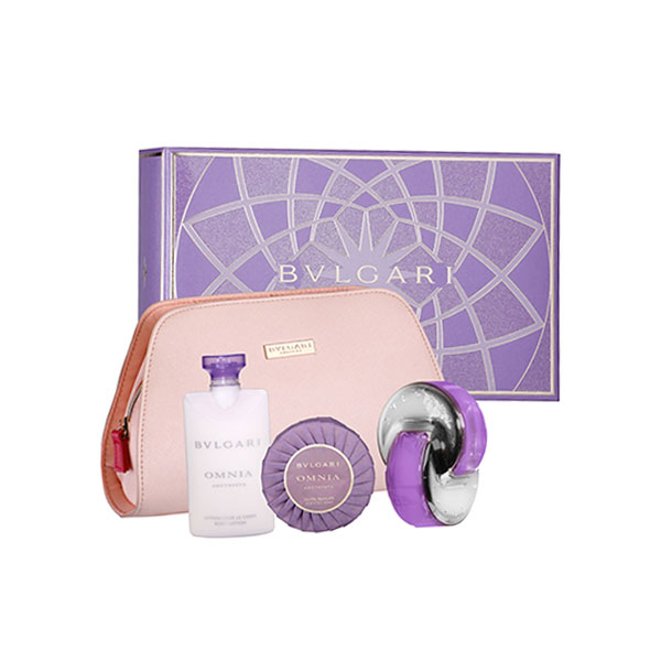 Bvlgari Omnia Amethyste EDT Gift Set For Women