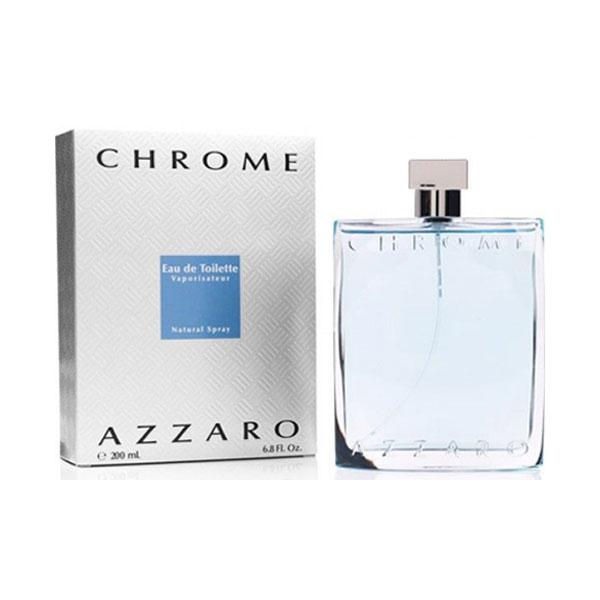 Azzaro Chrome EDT For Men (200ml)
