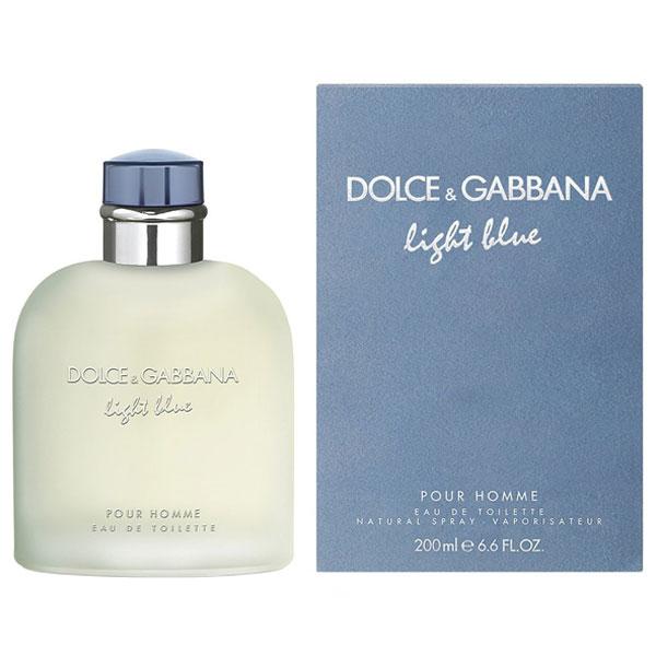 Dolce & Gabbana Light Blue Pour Homme EDT For Men (200ml)