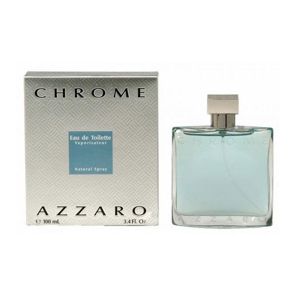 Azzaro Chrome EDT For Men (100ml)